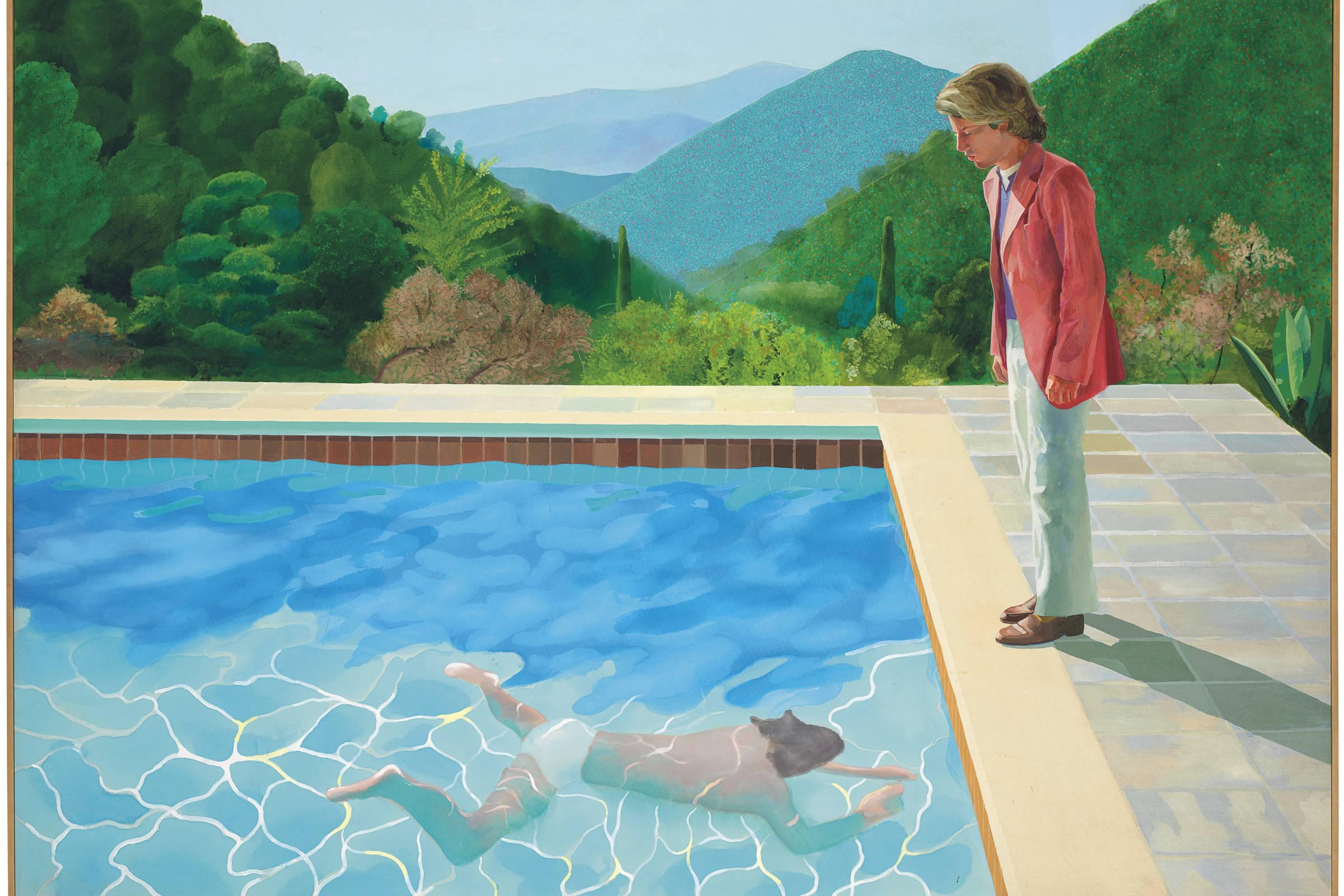 Quadro de Hockney é vendido a US$ 90 mi, recorde para um artista
