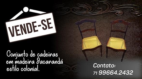 Cadeiras rusticas( EDSON)